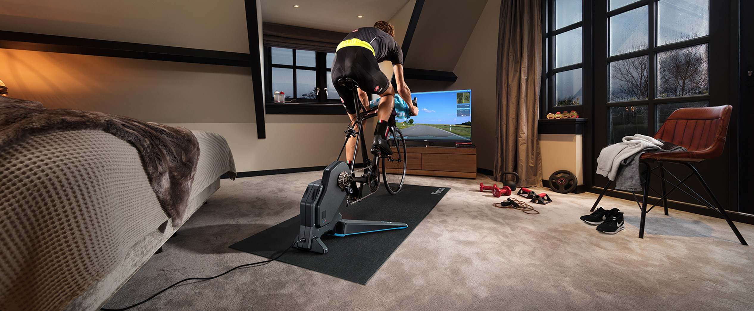 How it works | Tacx Software and apps | Indoor cycling software